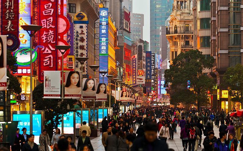 هدایت بیشتر خرید در شانگهای