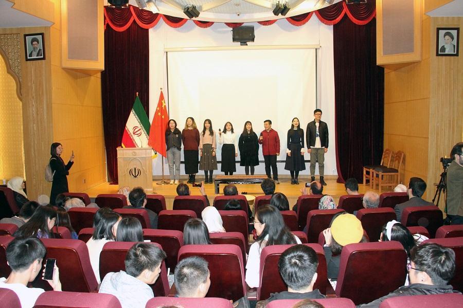 هفت سین سفارت ایران برای فارسی آموزان چینی