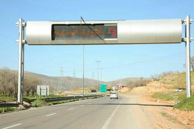 افزایش 17 درصدی تردد در محورهای لرستان