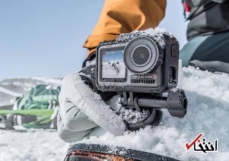 دوربین جدید دی جی آی ازمو معرفی گشت ، دارای دو نمایشگر ، ضدآب و 4K