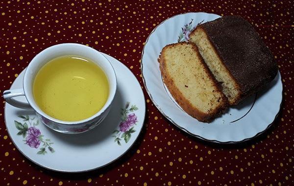 طرز تهیه کیک چای و دارچین هابیتون