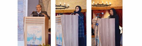 آنالیز چینی های آبی و سفید گنجینه اردبیل در سومین کنفرانس بین المللی باستان شناسی و حفاظت در امتداد جاده ابریشم