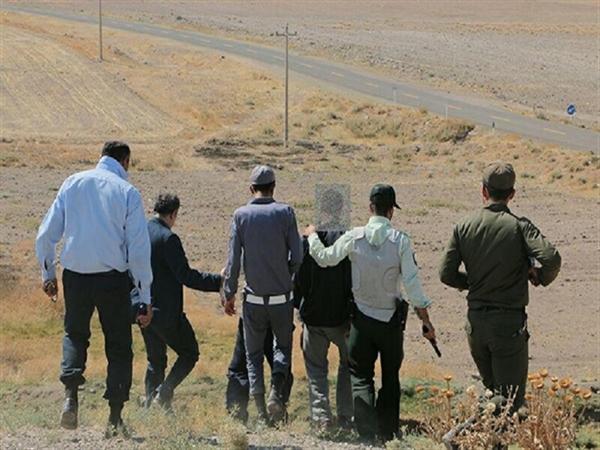حفار غیر مجاز در نیشابور دستگیر شد