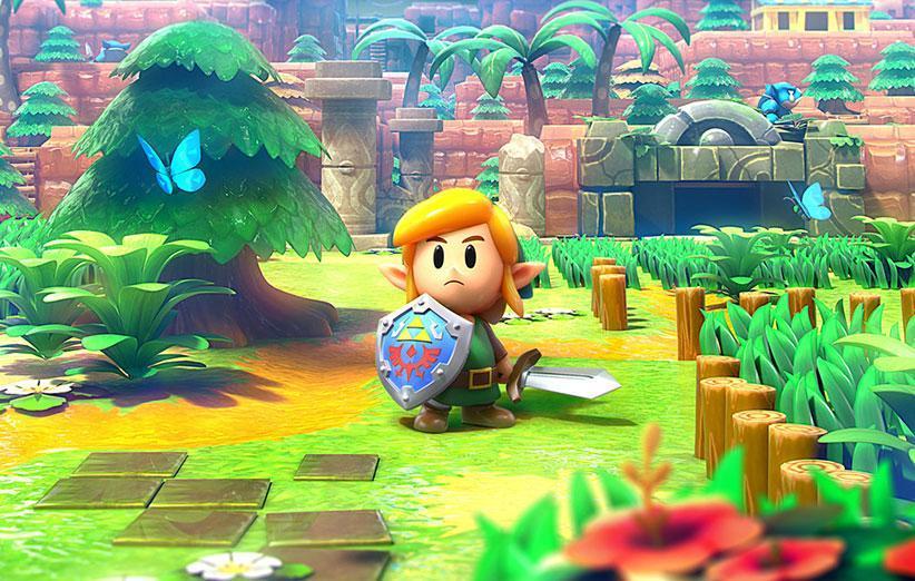 بازی The Legend of Zelda: Links Awakening در صدر جدول فروش انگلستان نهاده شد