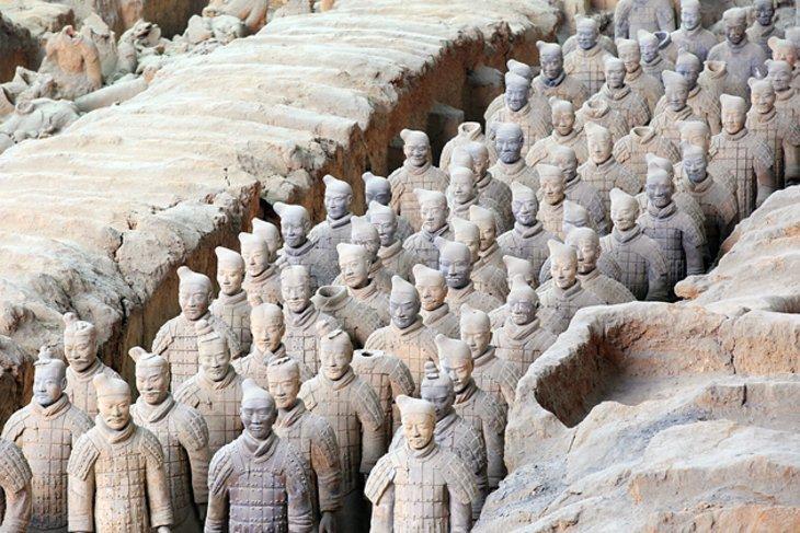 آشنایی با ارتش سفالی چین