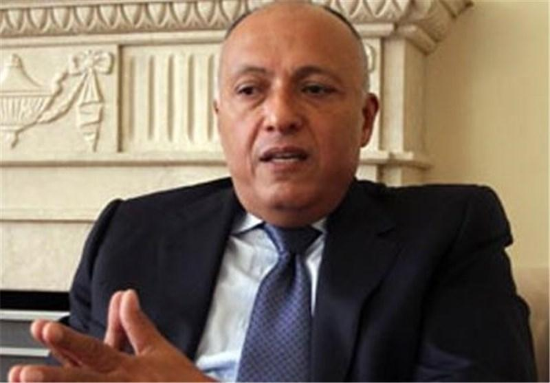سفر وزیر خارجه مصر به عمان