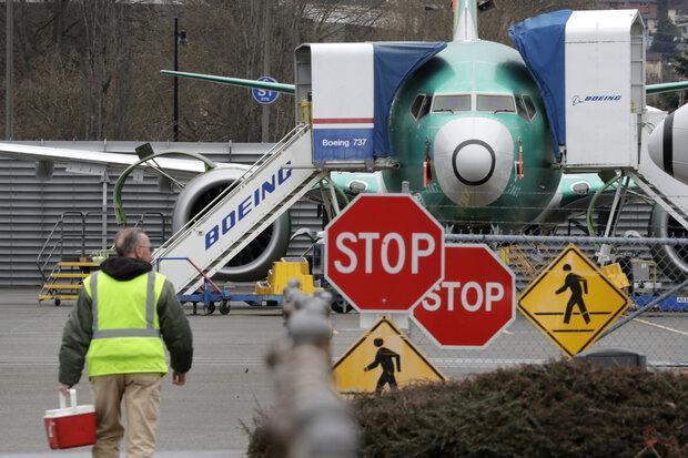 فراوری هواپیمای بویینگ 737 مکس متوقف شد