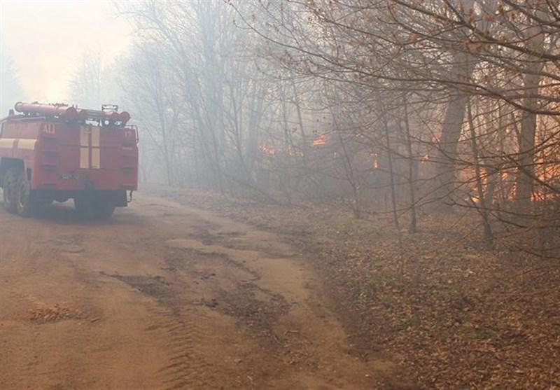 آمادگی روسیه برای یاری به مهار آتش سوزی در منطقه چرنوبیل اوکراین