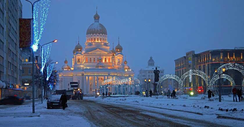 جاذبه های دیدنی شهر سارانسک روسیه