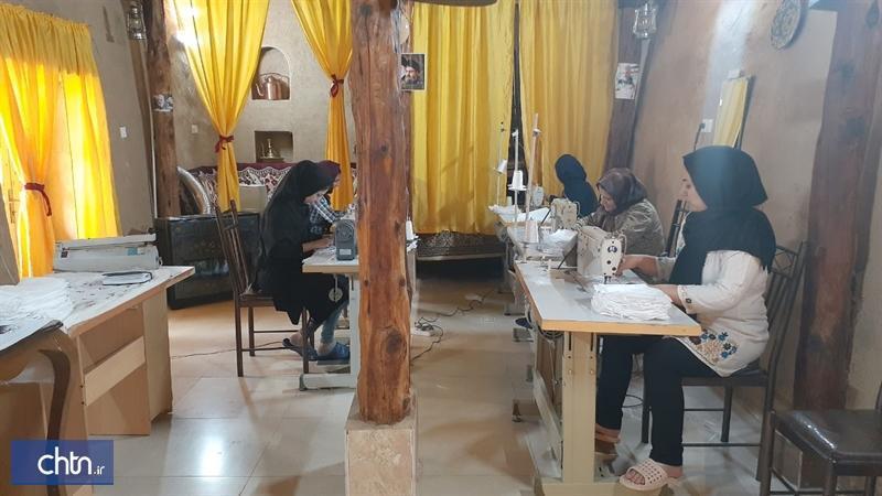 فراوری بیش از 9هزار ماسک توسط هنرمندان صنایع دستی خراسان شمالی