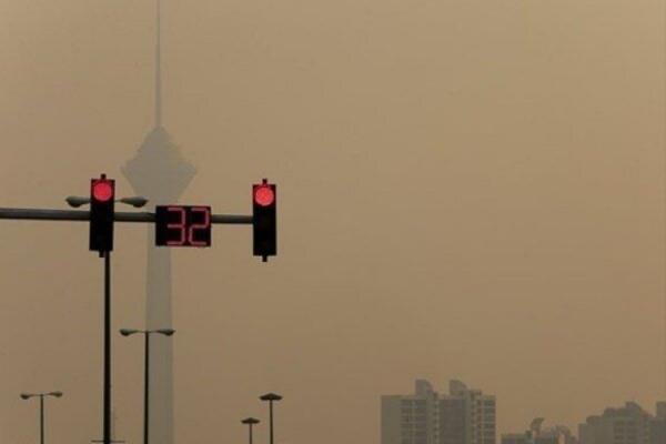 شاخص کیفیت هوای تهران امروز 21 اسفند 99؛ هوای تهران آلوده شد