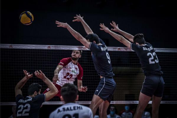 آمار ضعیف والیبال ایران مقابل لهستان
